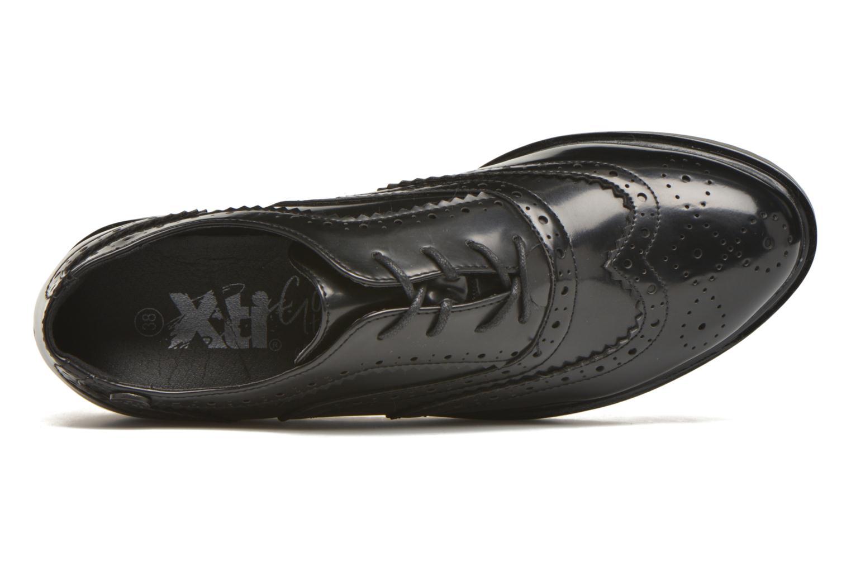 Chaussures à lacets Xti Luty-46259 Noir vue gauche