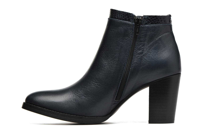 Bottines et boots Georgia Rose Gaté Bleu vue face