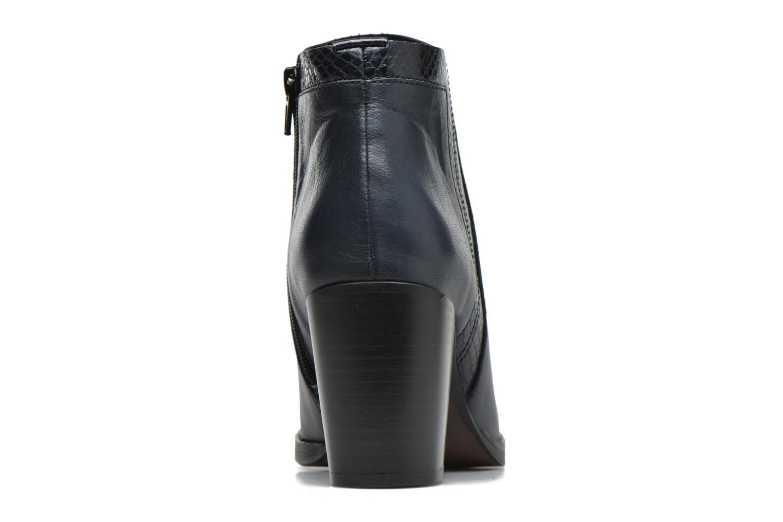 Bottines et boots Georgia Rose Gaté Bleu vue droite