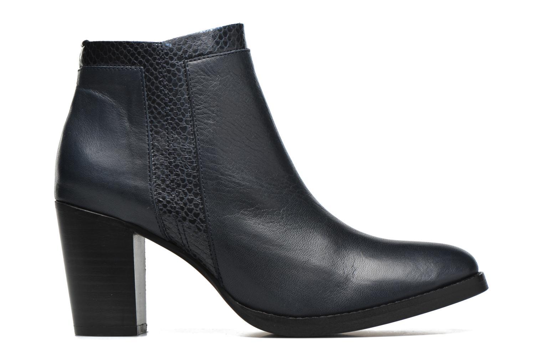 Bottines et boots Georgia Rose Gaté Bleu vue derrière