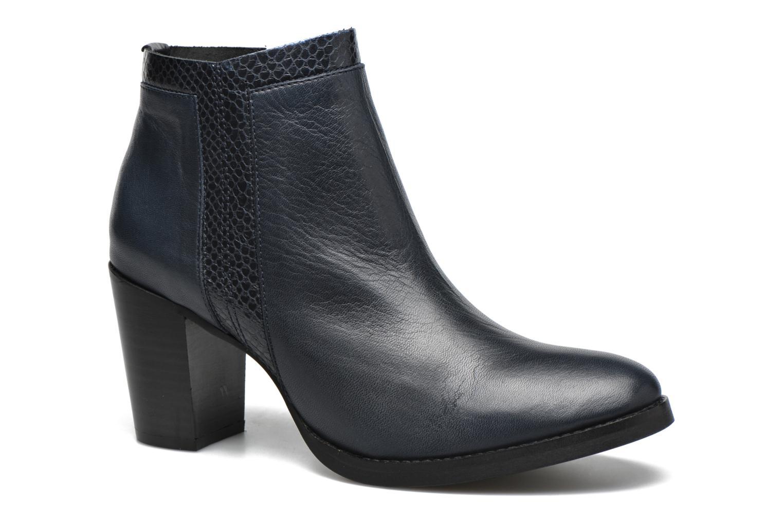 Bottines et boots Georgia Rose Gaté Bleu vue détail/paire