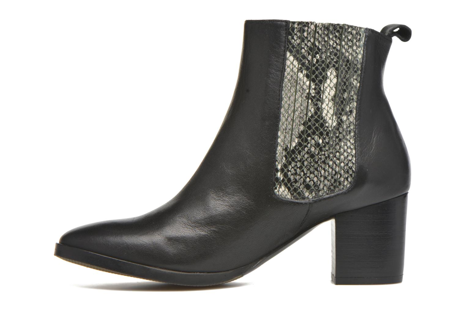 Bottines et boots Georgia Rose Galea Noir vue face