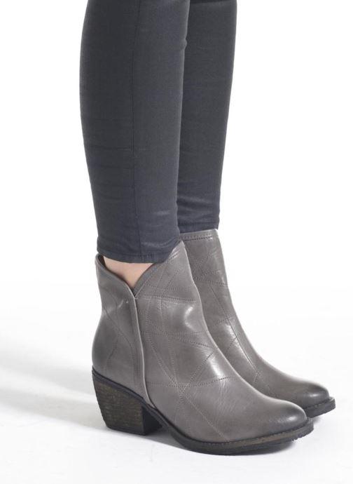 Bottines et boots Dkode Lakym Gris vue bas / vue portée sac