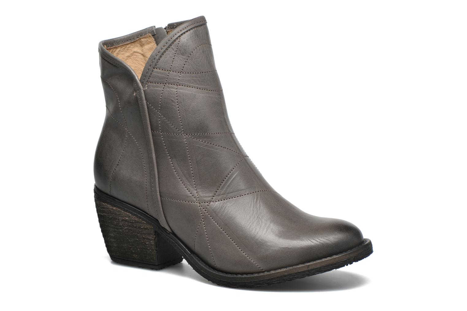 Ankle boots Dkode Lakym Grey detailed view/ Pair view