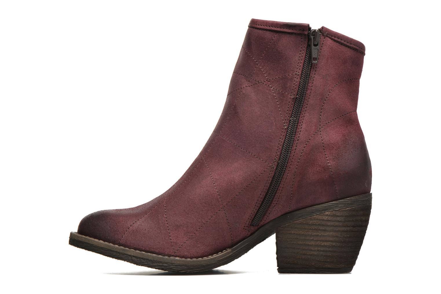 Ankle boots Dkode Lakym Burgundy front view