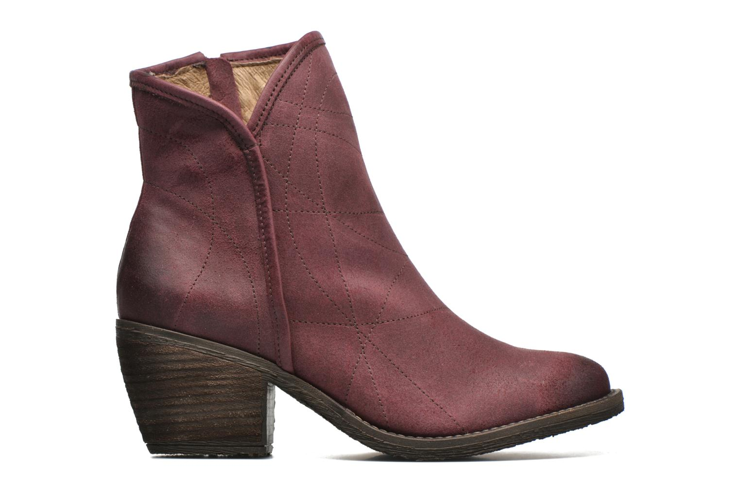 Ankle boots Dkode Lakym Burgundy back view