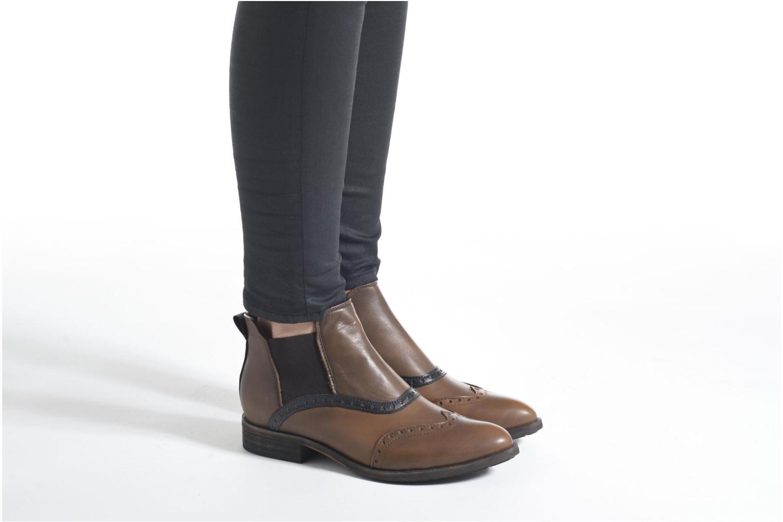Bottines et boots Dkode Solvi Marron vue bas / vue portée sac