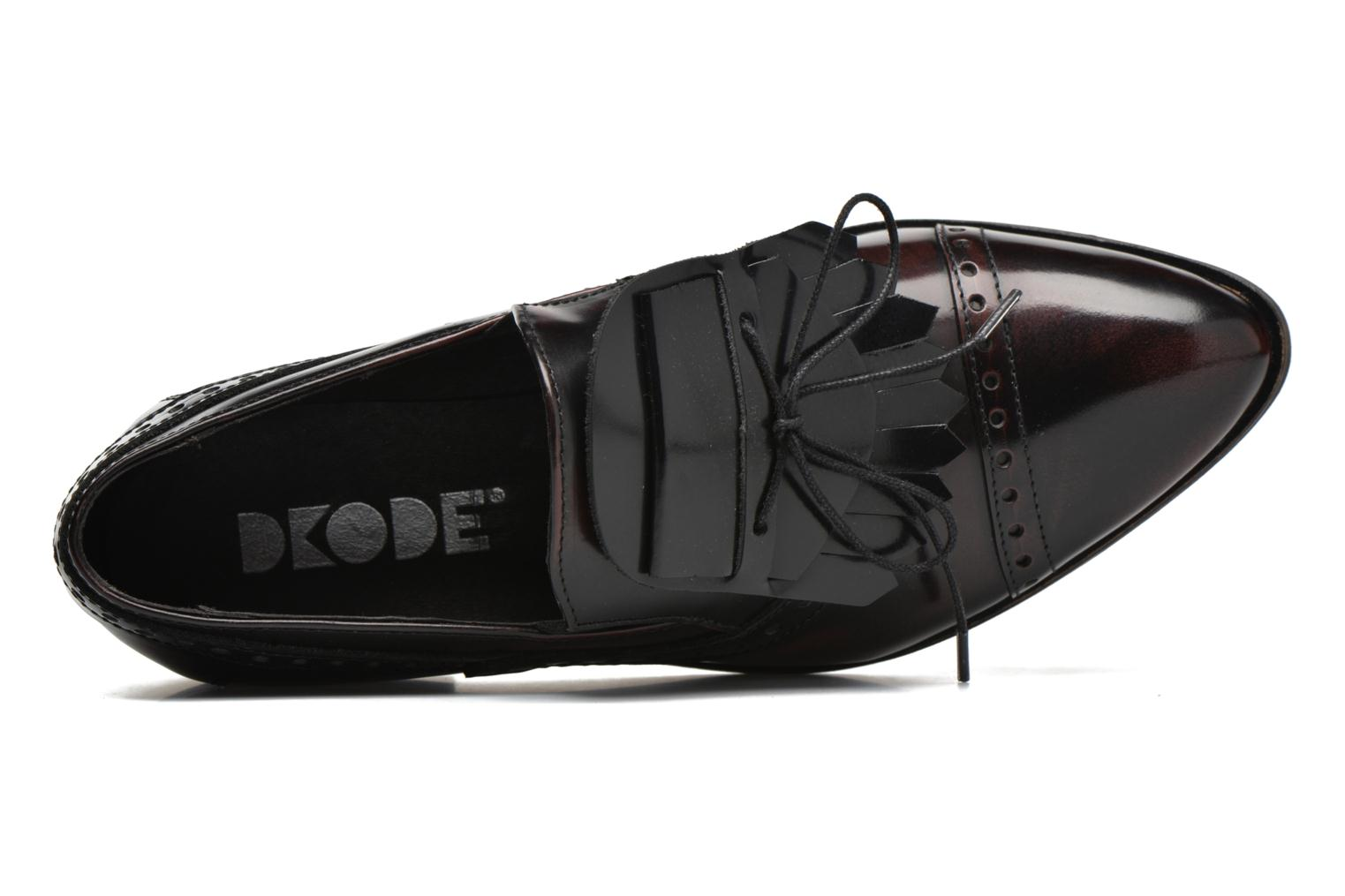 Loafers Dkode Sirian Red view from the left