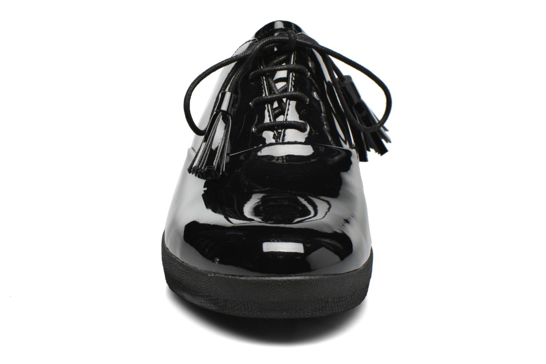 Chaussures à lacets FitFlop Classic Tassel Superoxford Noir vue portées chaussures