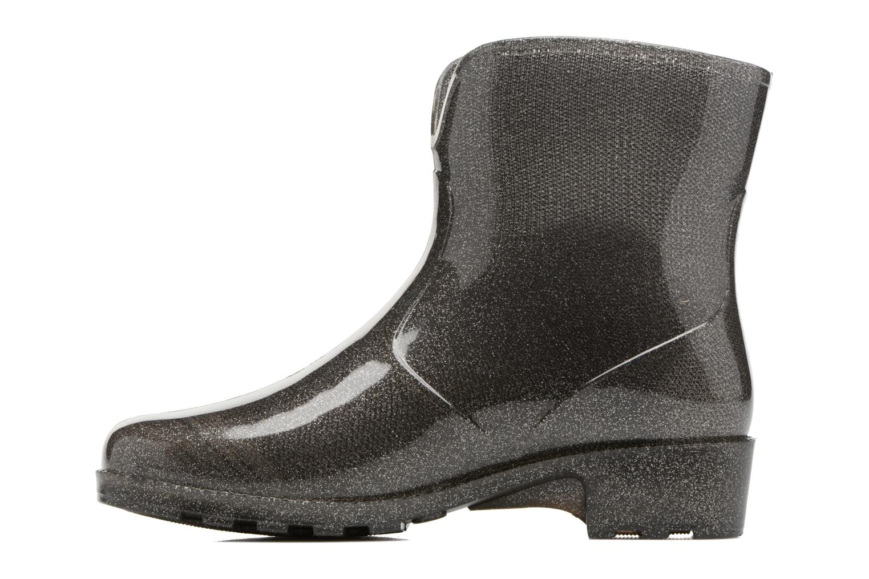 Ankle boots Méduse Camapail Silver front view