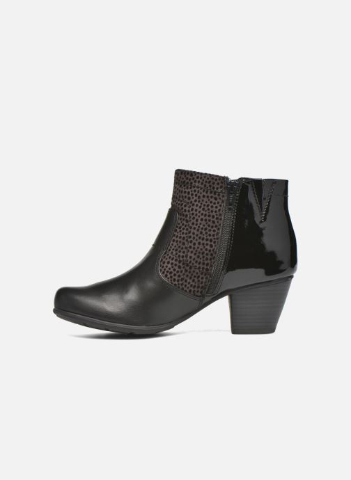Ankle boots Jana shoes Lisette Black front view