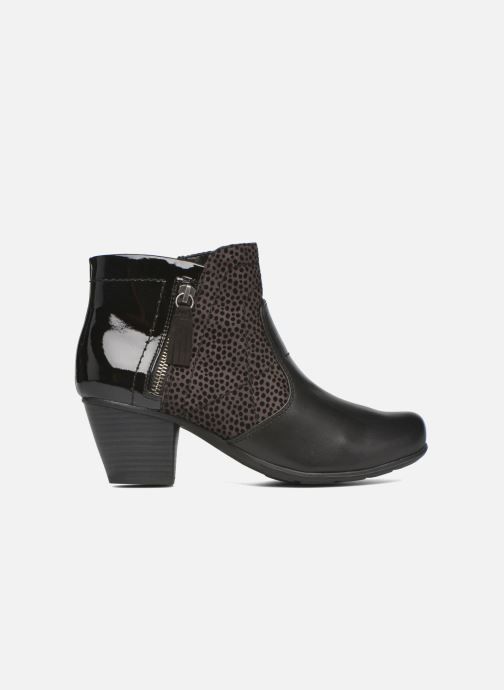 Ankle boots Jana shoes Lisette Black back view