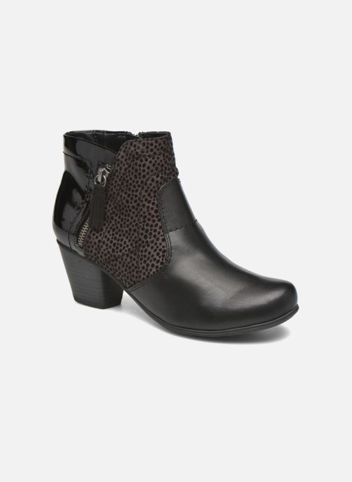 Ankle boots Jana shoes Lisette Black detailed view/ Pair view