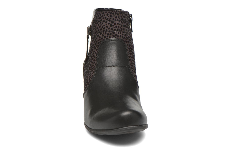 Bottines et boots Jana shoes Lisette Noir vue portées chaussures