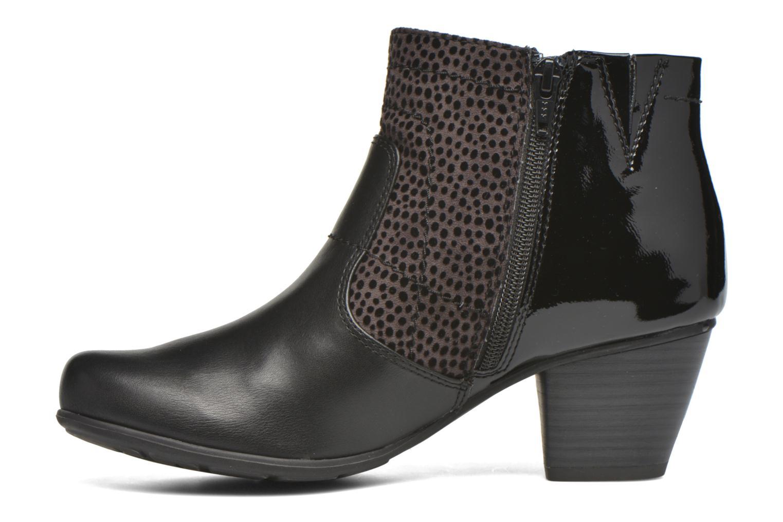 Bottines et boots Jana shoes Lisette Noir vue face