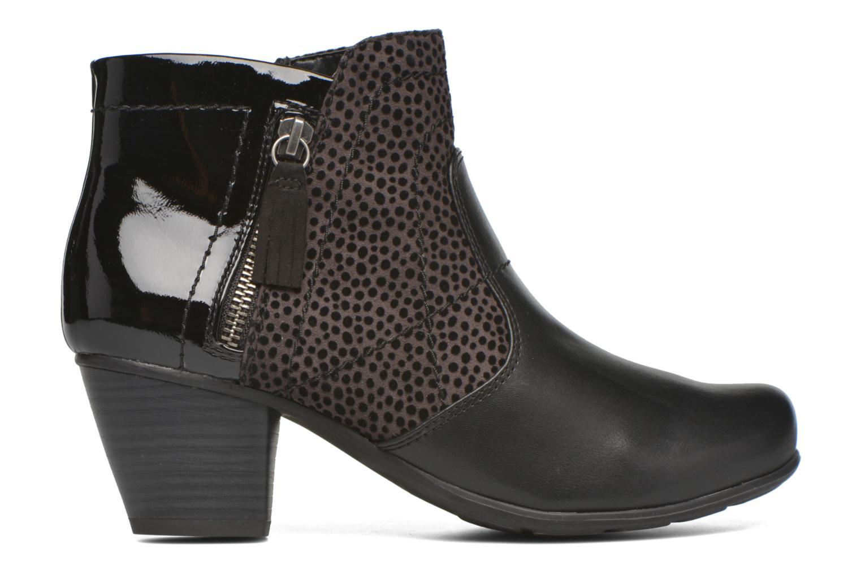 Bottines et boots Jana shoes Lisette Noir vue derrière