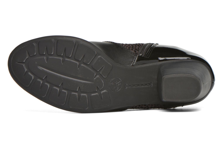 Bottines et boots Jana shoes Lisette Noir vue haut