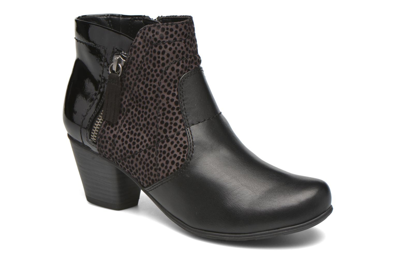 Bottines et boots Jana shoes Lisette Noir vue détail/paire