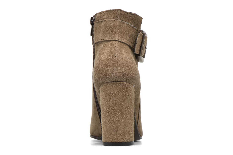 Bottines et boots Georgia Rose Mabouk Beige vue droite