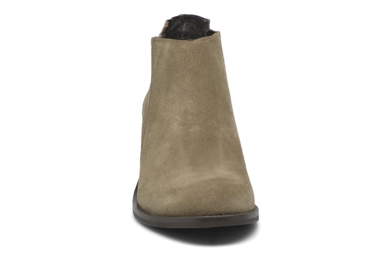 Bottines et boots Georgia Rose Matiag Beige vue portées chaussures