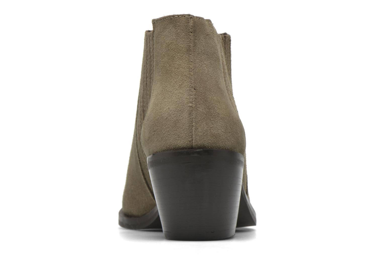 Bottines et boots Georgia Rose Matiag Beige vue droite