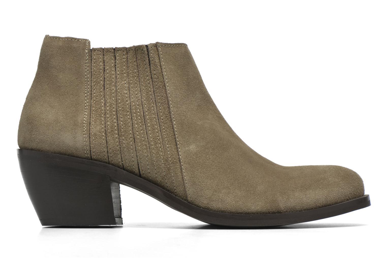 Bottines et boots Georgia Rose Matiag Beige vue derrière