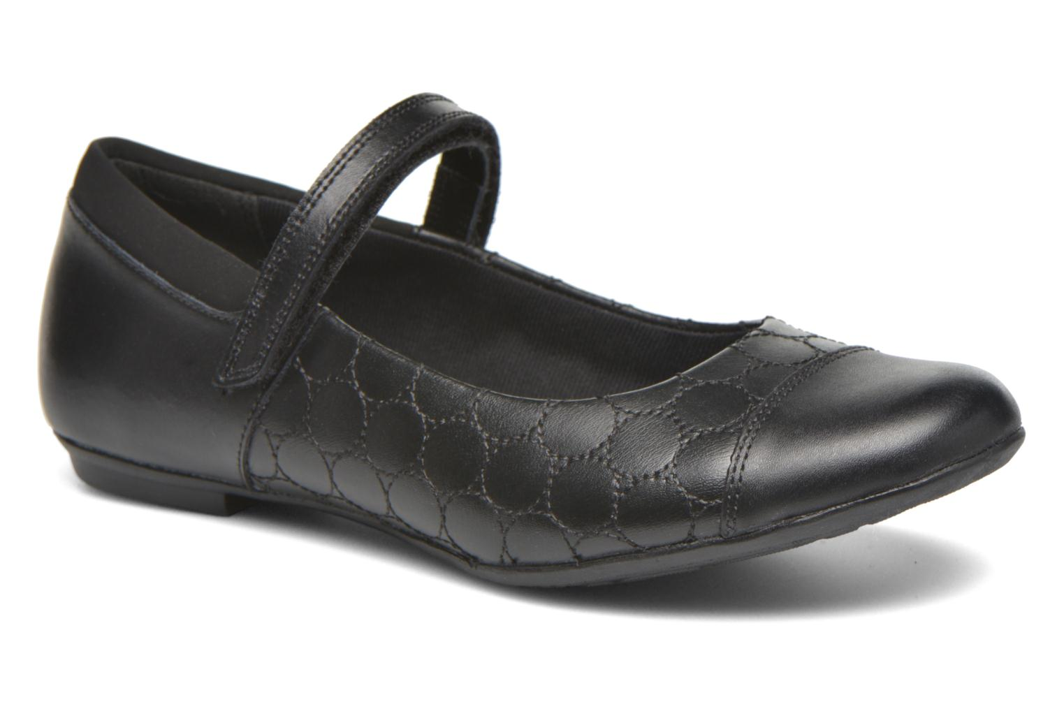 Ballet pumps Clarks Tizz Whizz BL Black detailed view/ Pair view