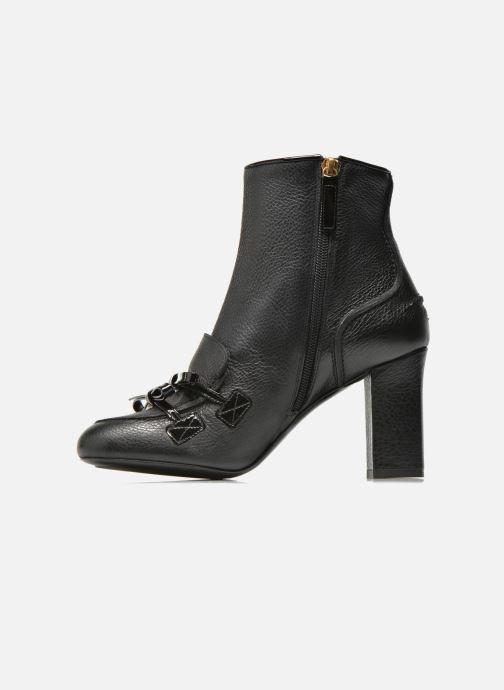 Stiefeletten & Boots Boutique Moschino Bot-bot schwarz ansicht von vorne