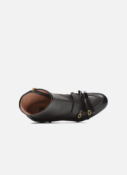 Bottines et boots Boutique Moschino Bot-bot Noir vue gauche