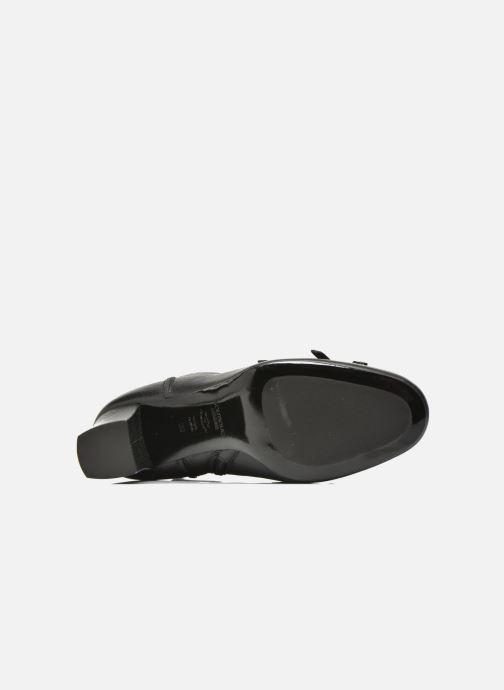 Stiefeletten & Boots Boutique Moschino Bot-bot schwarz ansicht von oben