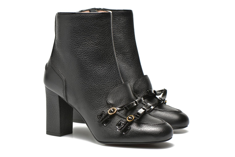 Bottines et boots Boutique Moschino Bot-bot Noir vue 3/4