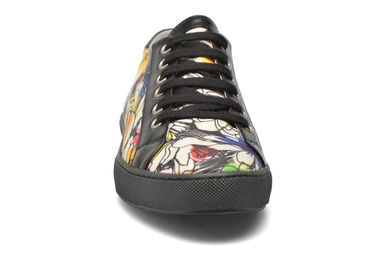 Chaussures à lacets Boutique Moschino Flower Multicolore vue portées chaussures