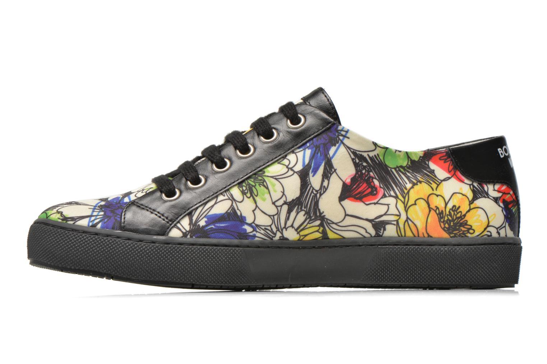 Chaussures à lacets Boutique Moschino Flower Multicolore vue face