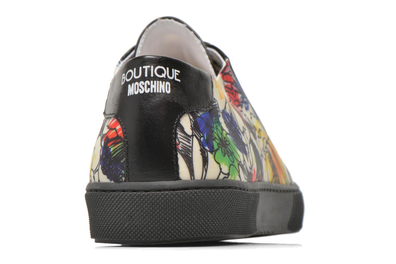 Chaussures à lacets Boutique Moschino Flower Multicolore vue droite
