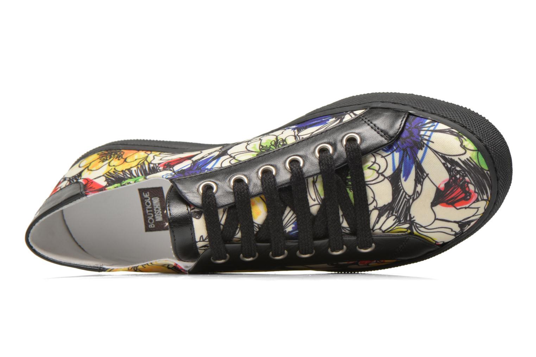 Chaussures à lacets Boutique Moschino Flower Multicolore vue gauche