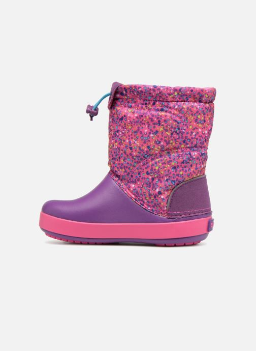 Stivali Crocs Crocband Lodgepoint Graphic K Rosa immagine frontale