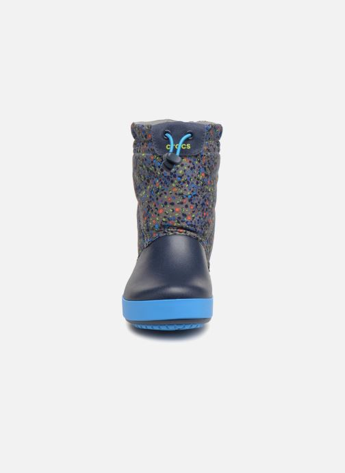 Bottes Crocs Crocband Lodgepoint Graphic K Bleu vue portées chaussures