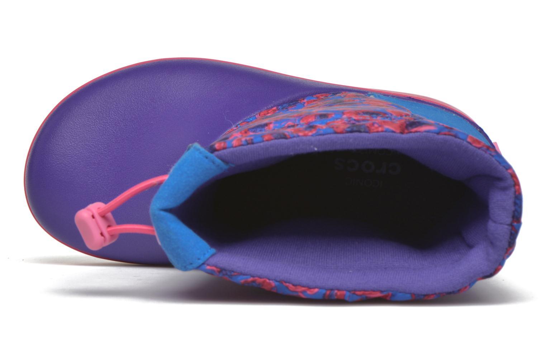Bottes Crocs Crocband Lodgepoint Graphic K Violet vue gauche