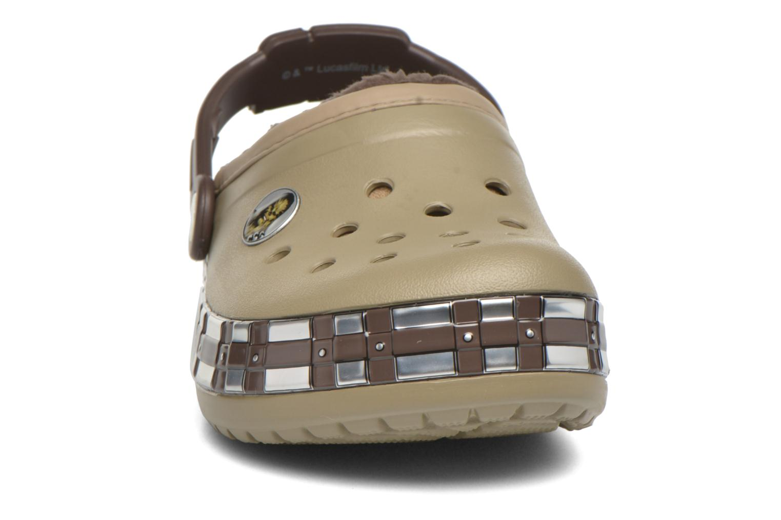 Chaussons Crocs CB Star Wars Chewbacca Lined Vert vue portées chaussures