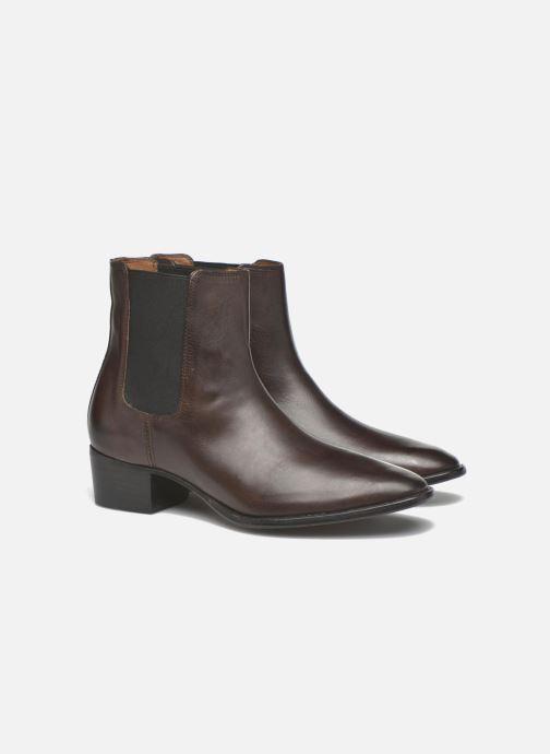 Bottines et boots Frye Dara Chelsea Marron vue 3/4