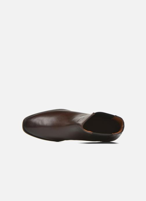 Bottines et boots Frye Dara Chelsea Marron vue gauche