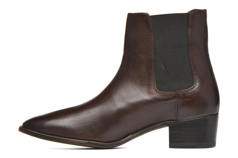 Bottines et boots Frye Dara Chelsea Marron vue face