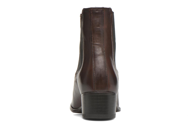 Bottines et boots Frye Dara Chelsea Marron vue droite