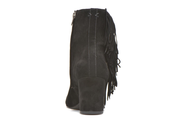 Bottines et boots Frye Jodi Fringe Short Noir vue droite