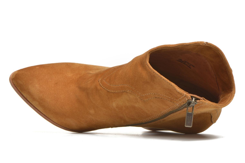 Bottines et boots Frye Remy Fringe Short Beige vue gauche