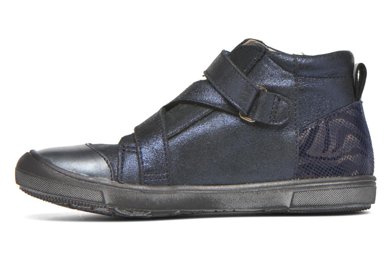 Chaussures à scratch Catimini Monarque Bleu vue face