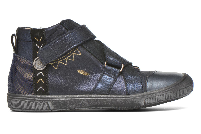 Chaussures à scratch Catimini Monarque Bleu vue derrière