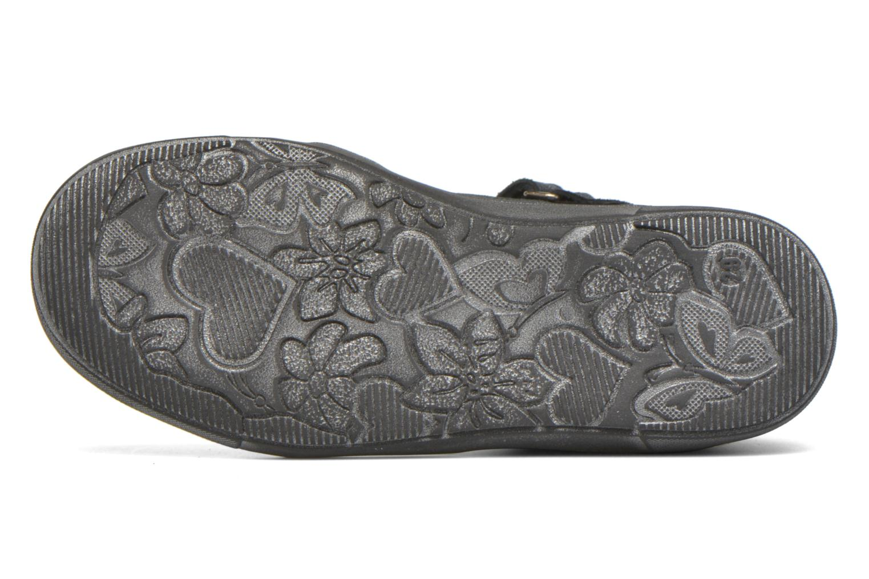 Chaussures à scratch Catimini Monarque Bleu vue haut