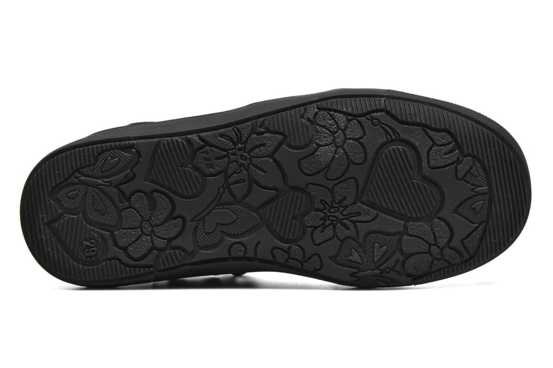 Chaussures à scratch Catimini Monarque Gris vue haut
