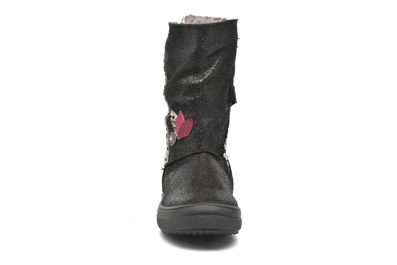 Bottes Catimini Alpaga Noir vue portées chaussures